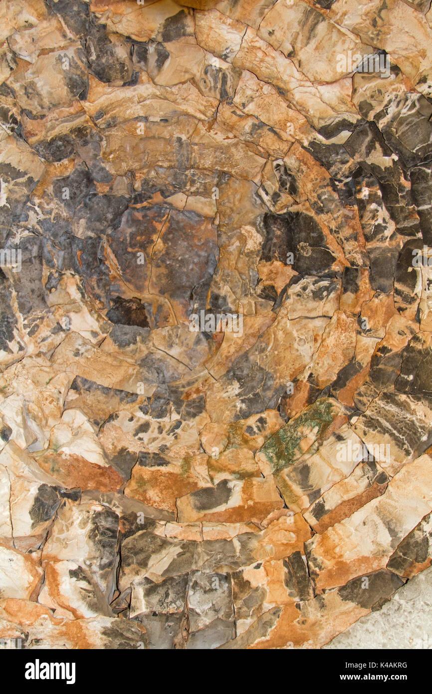 Detailansicht eines Kazun von Innen Stockbild