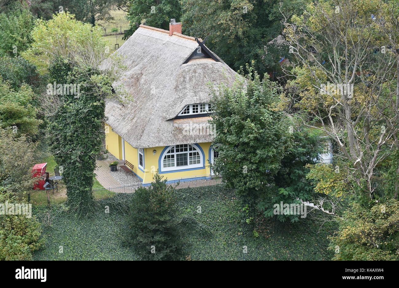 Haus am Darss Stockbild