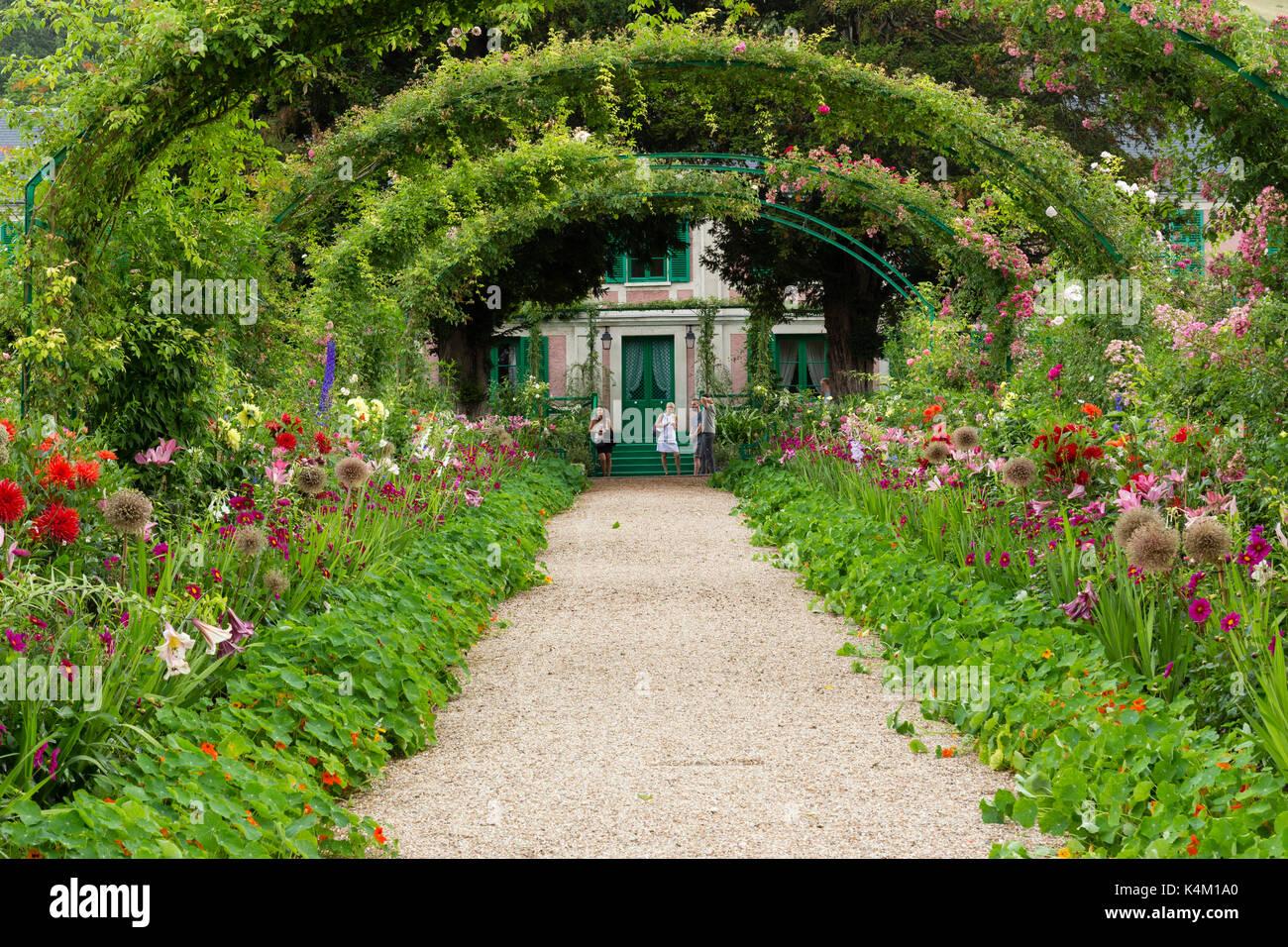 Frankreich, Eure (27), Giverny, Jardin et Maison du peintre Claude ...