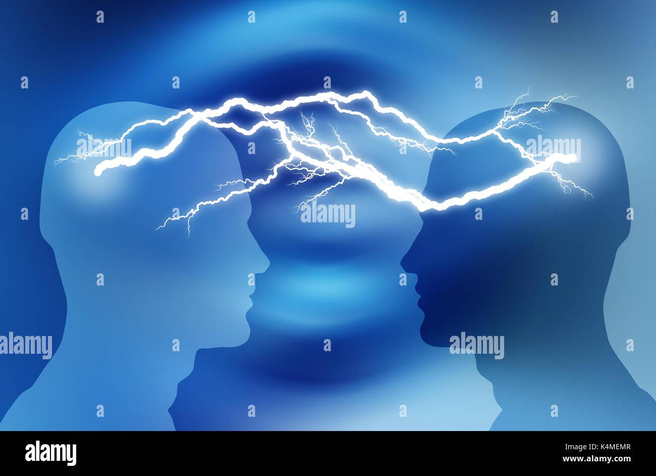Brainstorming Ideen Konzept Stockbild