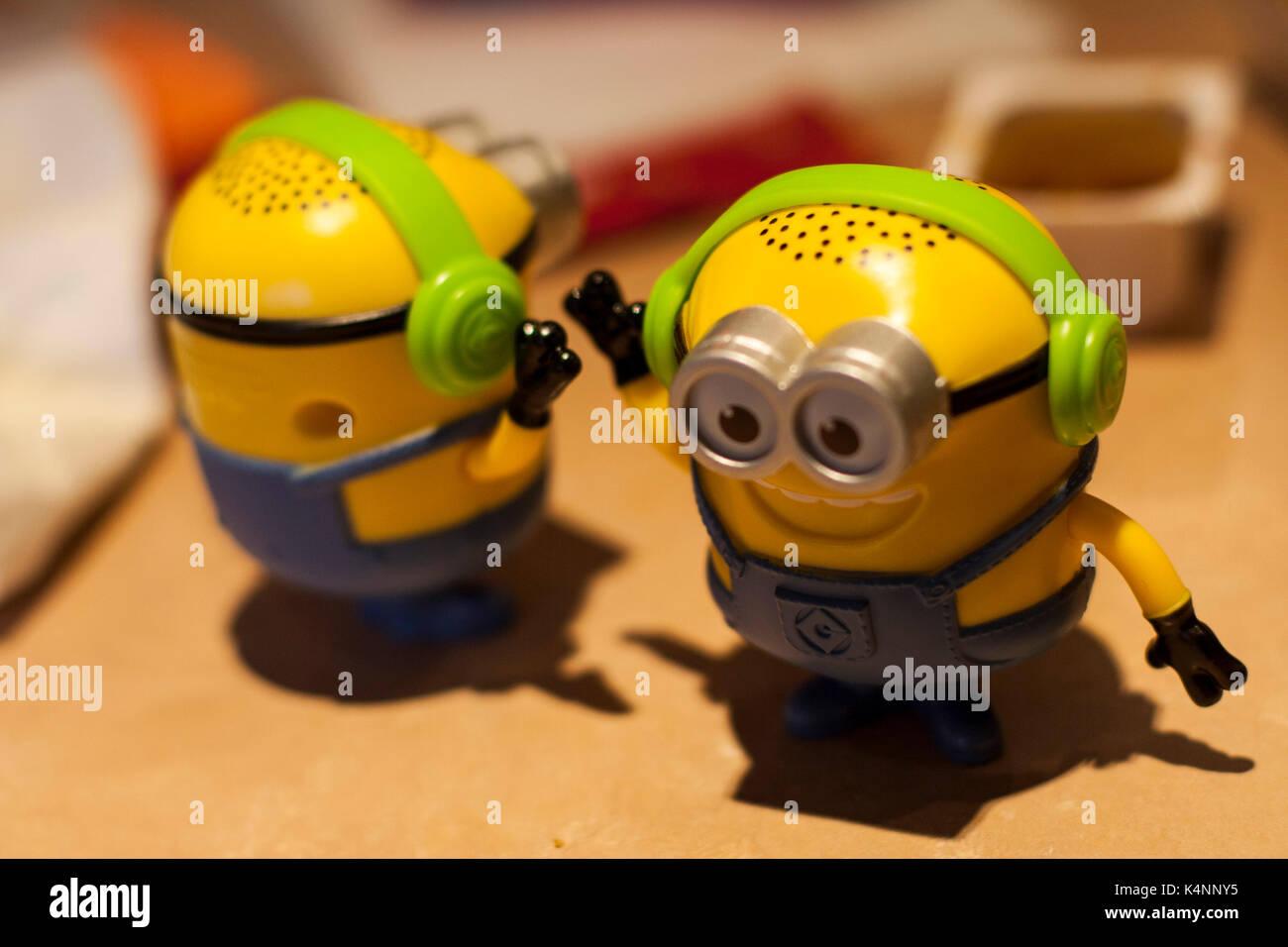 Happy meal mcdonalds toy stockfotos