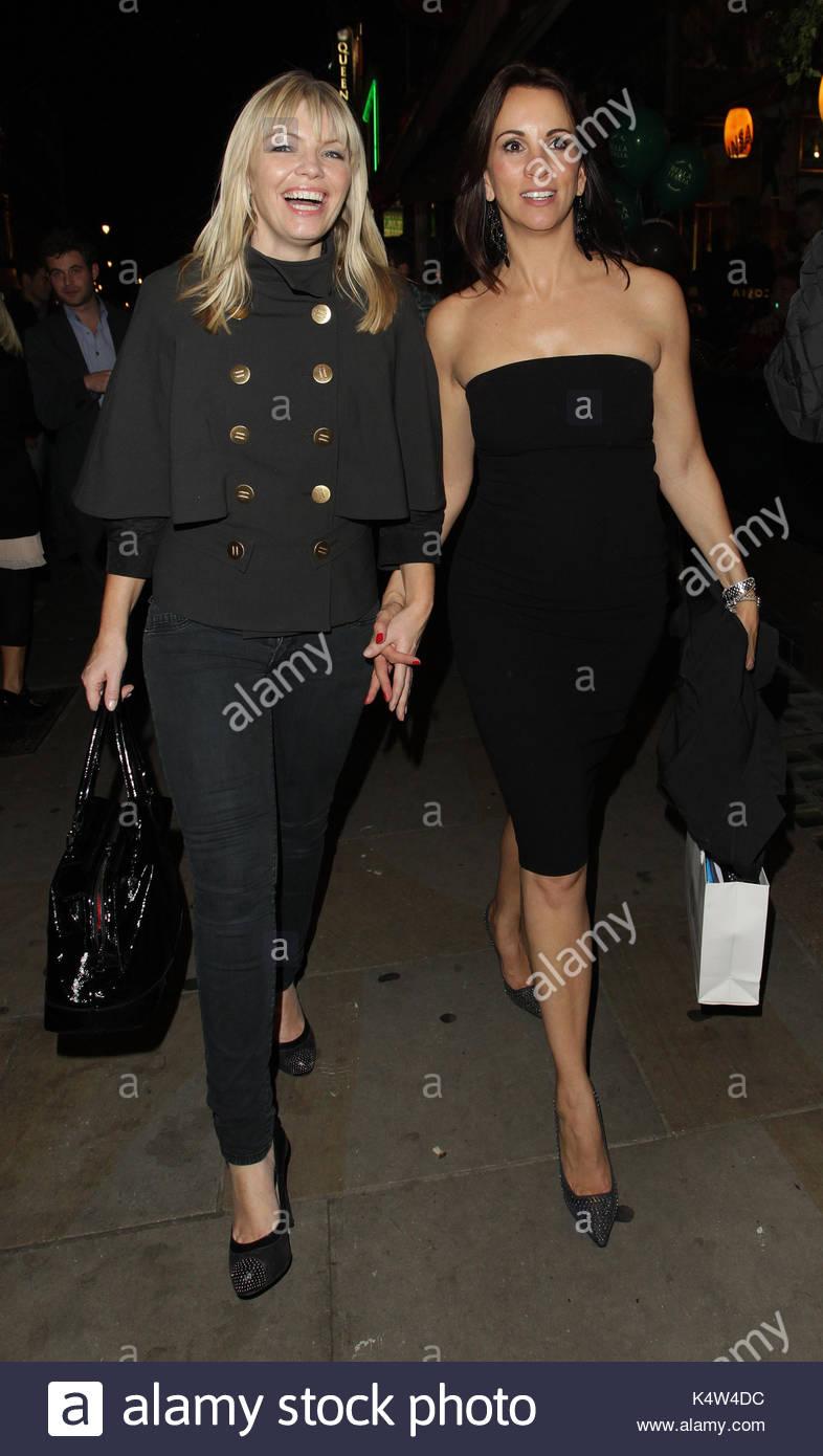 Kate Thornton und Andrea McLean. Einige der Lose Frauen sind hier an ...
