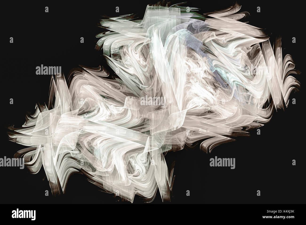 Geprägtes Leinen Seide Filamente - Digital Design Stockbild