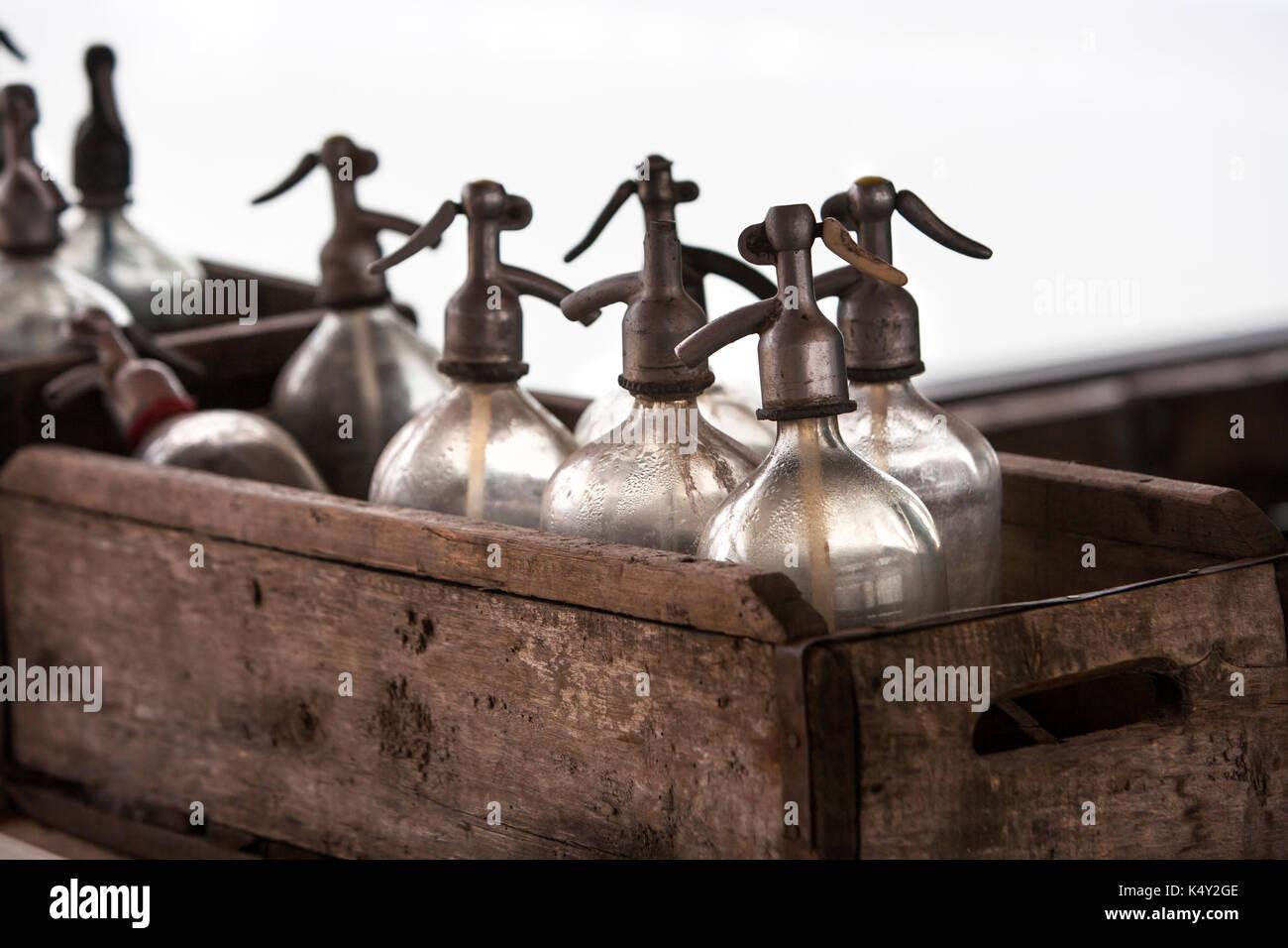 Vintage Soda-Flaschen