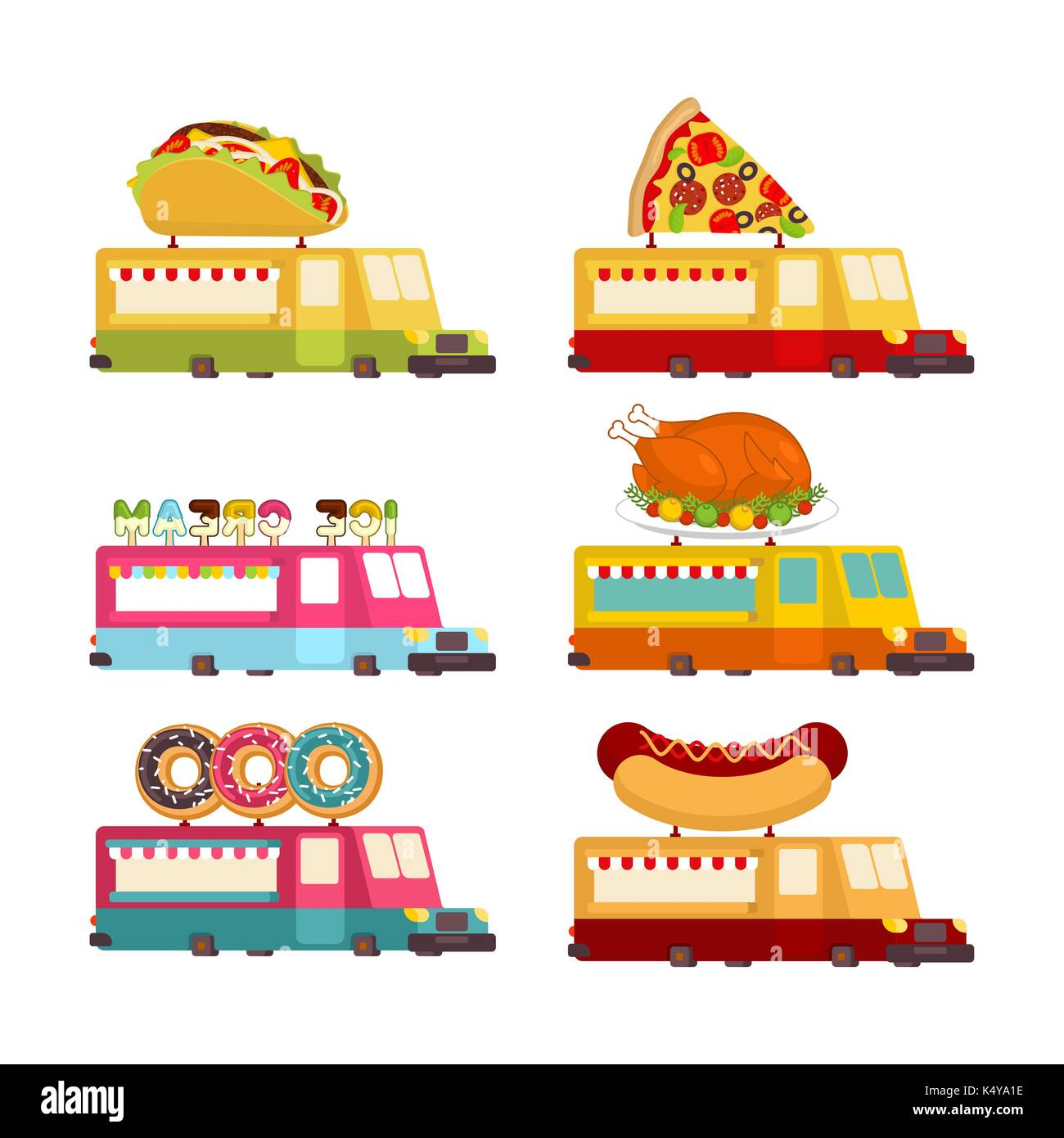 pizza delivery truck fast food stockfotos pizza delivery truck fast food bilder alamy. Black Bedroom Furniture Sets. Home Design Ideas