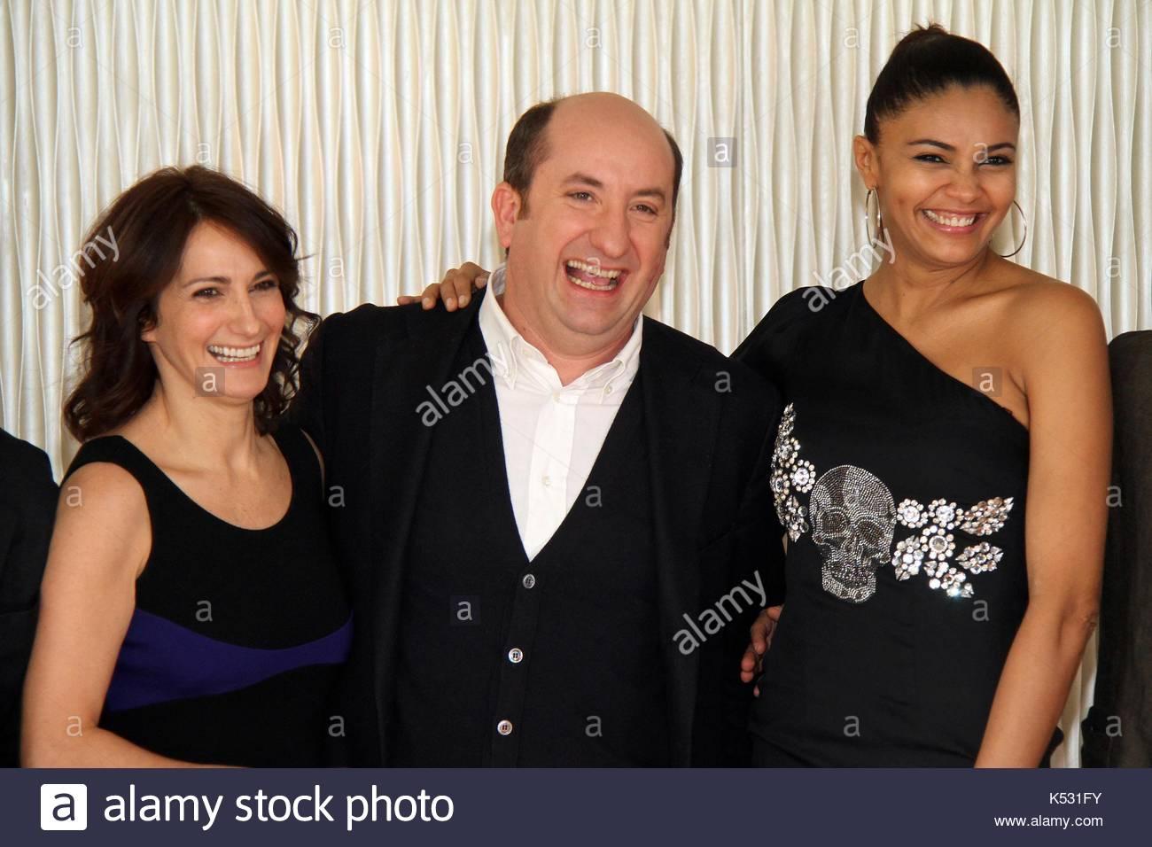 Lorenza Indovina, Antonio Albanese und Veronica Da Silva. \'Neue ...