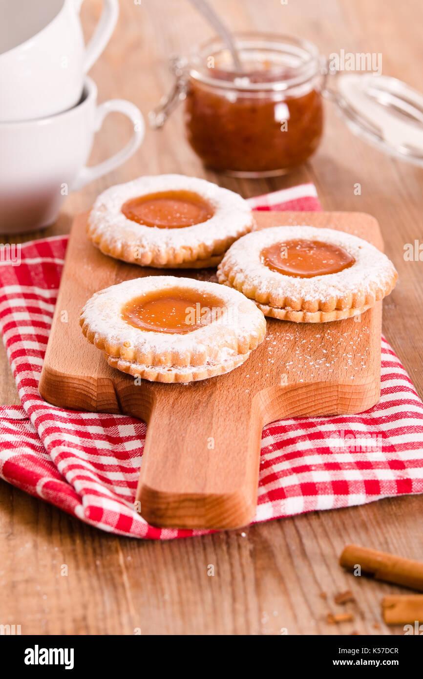 Frühstück-Cookies. Stockbild