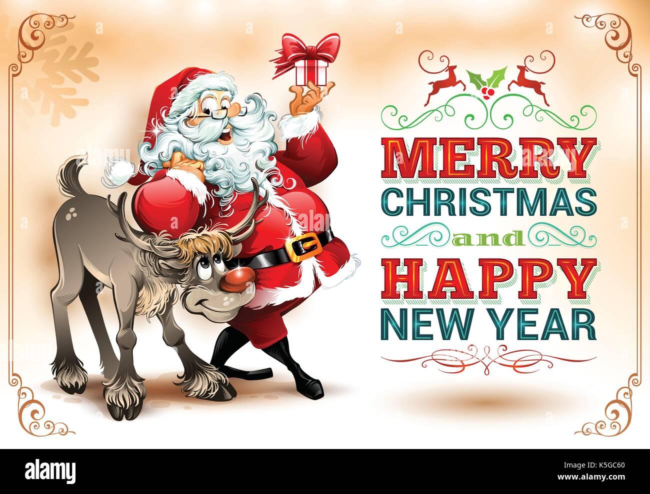 reindeer christmas vector stockfotos reindeer christmas. Black Bedroom Furniture Sets. Home Design Ideas