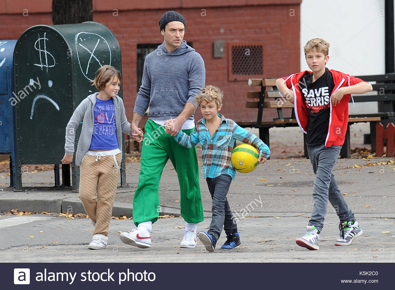 Jude Law Kinder