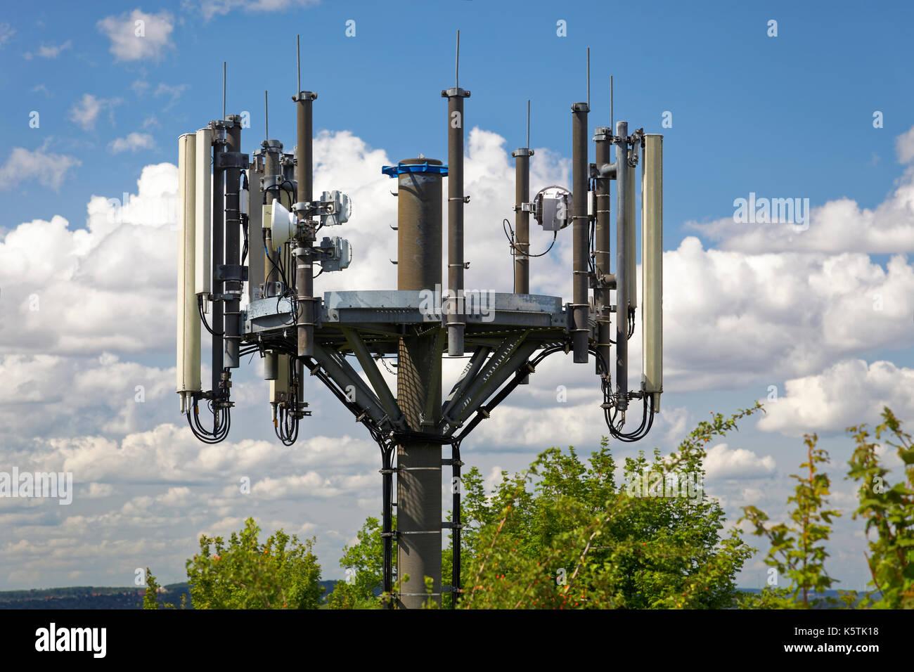 Handy Antennen, Nürnberg, Mittelfranken, Franken, Bayern, Deutschland Stockbild