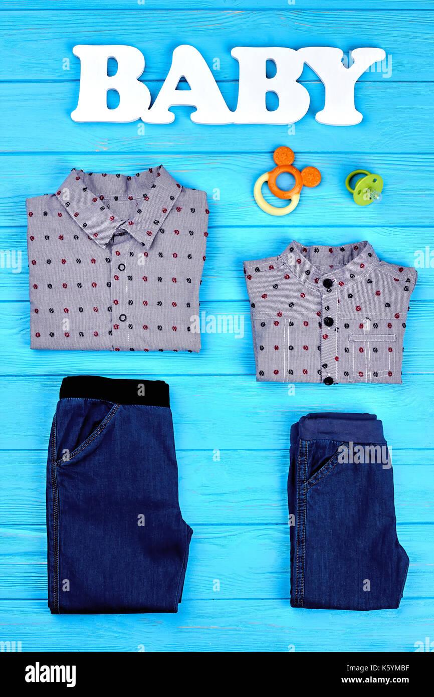 watch b37ed 23f11 Baby - Junge Mode Kleidung Hintergrund. Cute Frühling oder ...