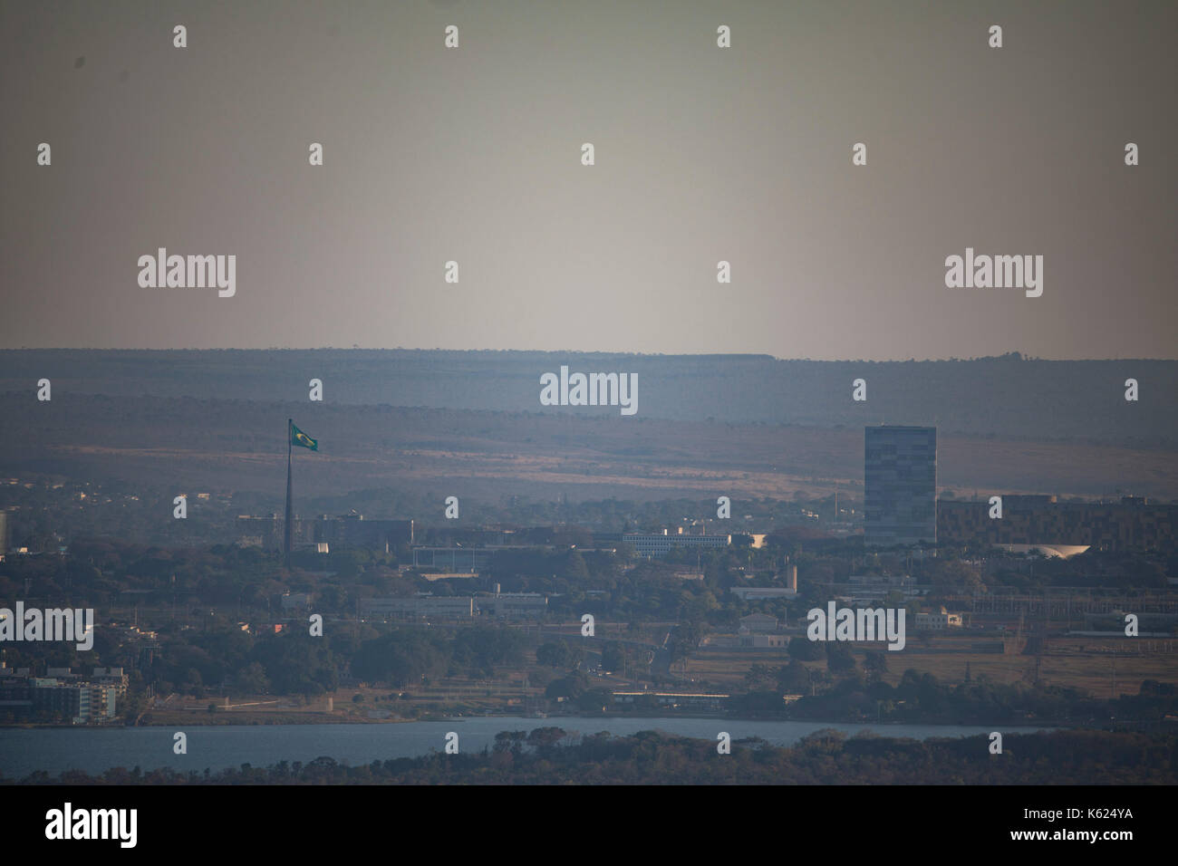 Ansicht der Stadt von Brasília, der Hauptstadt Brasiliens. Credit: Marcelo Chello/CJPress Stockbild