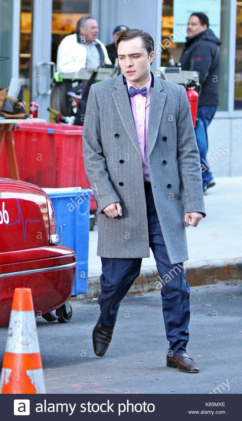 Ed Westwick. Ed Westwick ist gesehen Suchen snazzy in einem Bow Tie ...