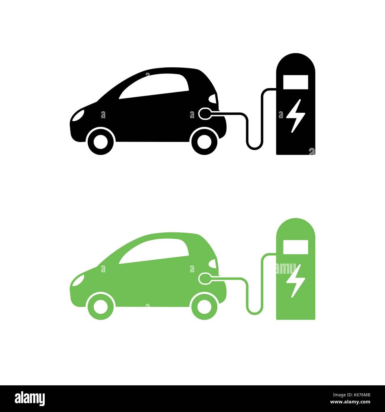 Schön Elektrische Symbole Des Fahrzeugs Fotos - Elektrische ...