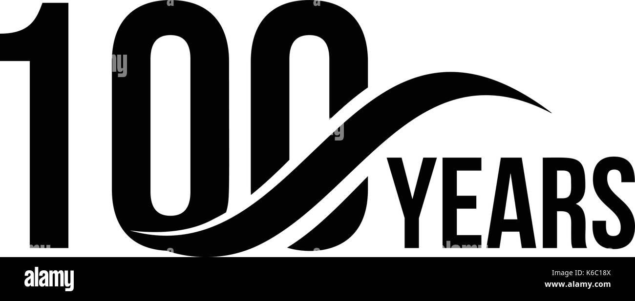 Vektor Isoliert Jahrestag Logo Vorlage Fur Business Company