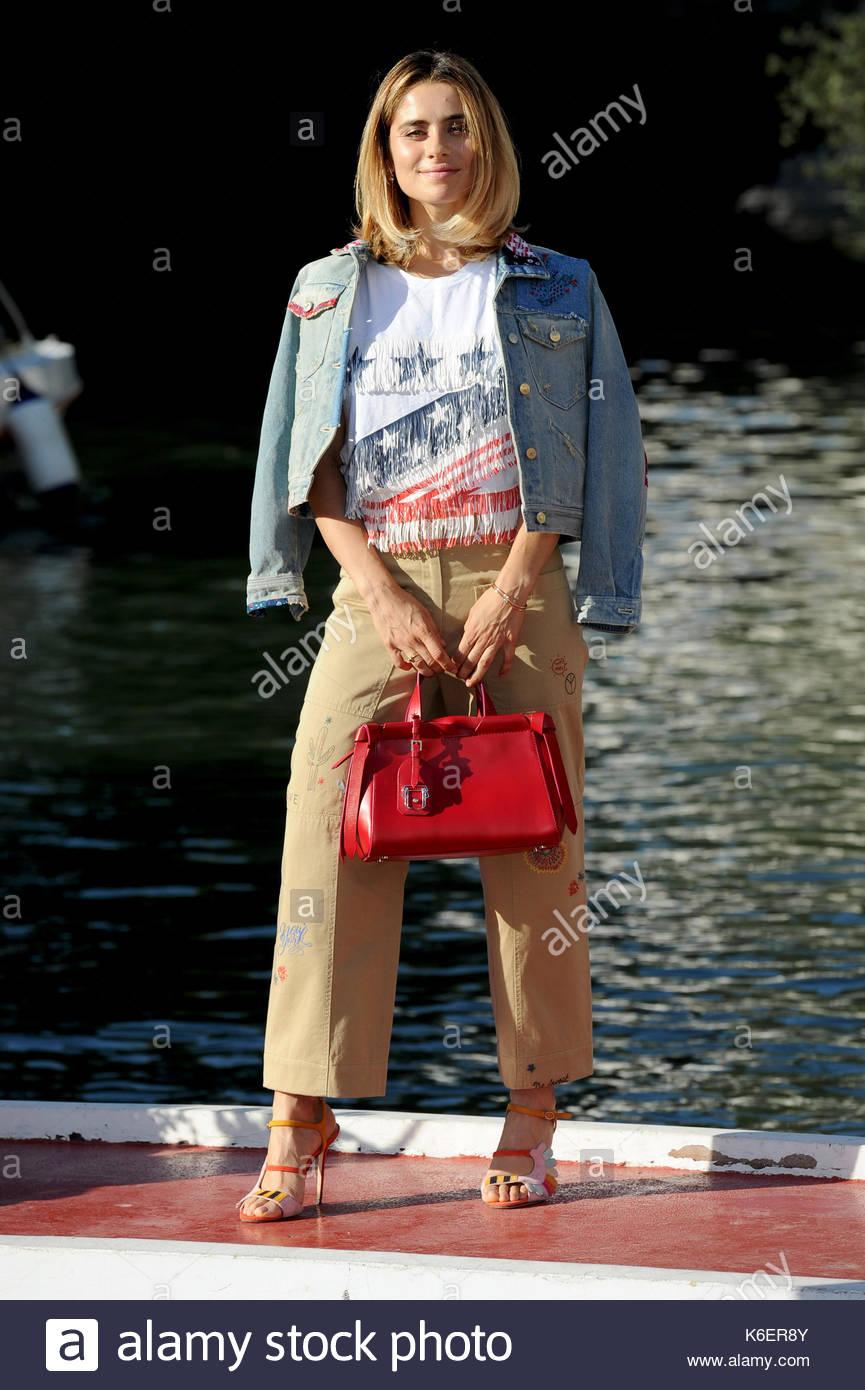Greta Scarano venezia 05-09-2017 Stockfoto