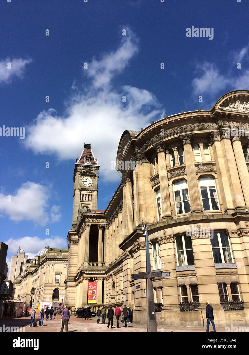 Birmingham Museum & Art Gallery (BMAG) Birmingham, Großbritannien - 25 März 2016: Bau von Birmingham Stockbild