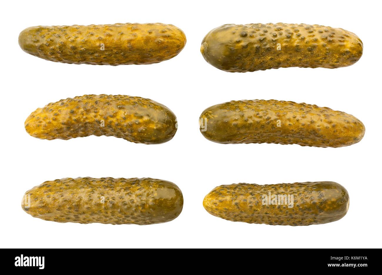 Pickle Pfad isoliert Stockbild