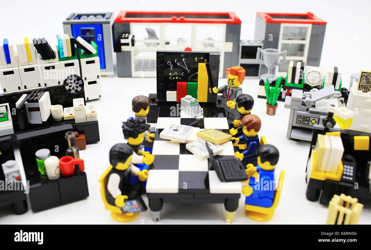 Lego büro stockfoto bild alamy