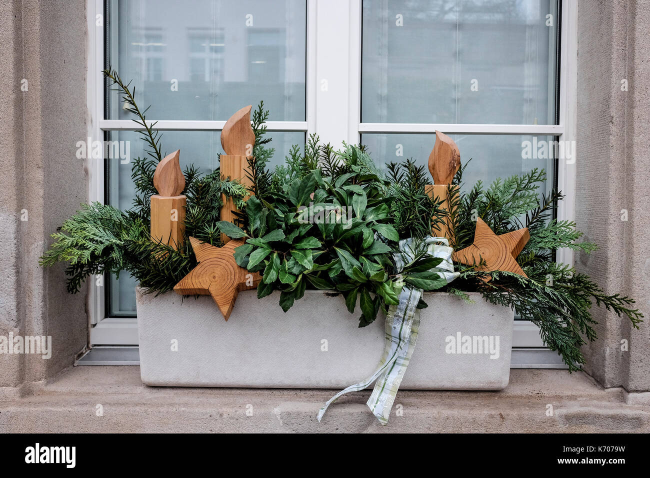 Weihnachten stockfotos weihnachten bilder alamy for Dekoration fensterbank