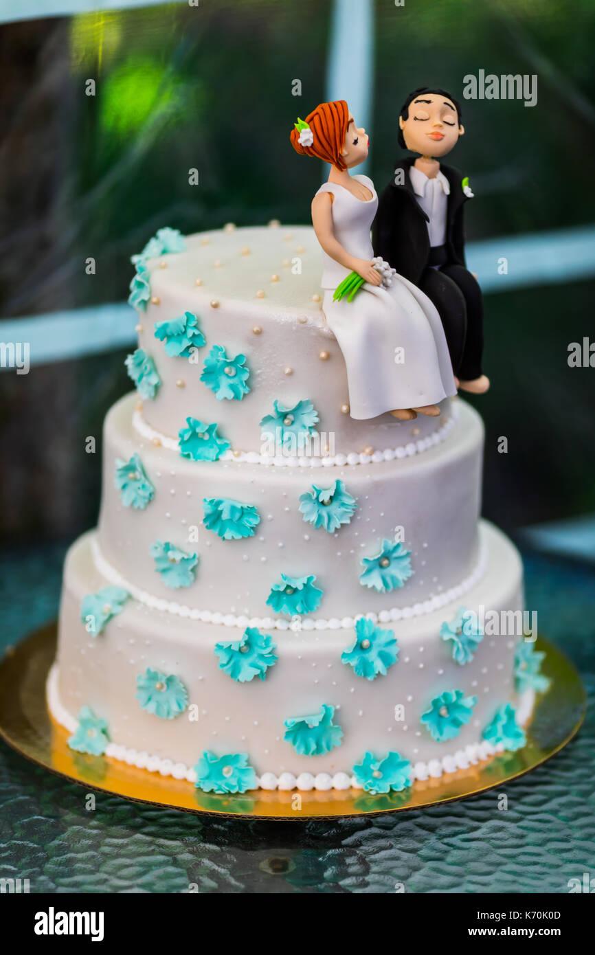 Hochzeitstorte Figuren Stockfotos Hochzeitstorte Figuren Bilder