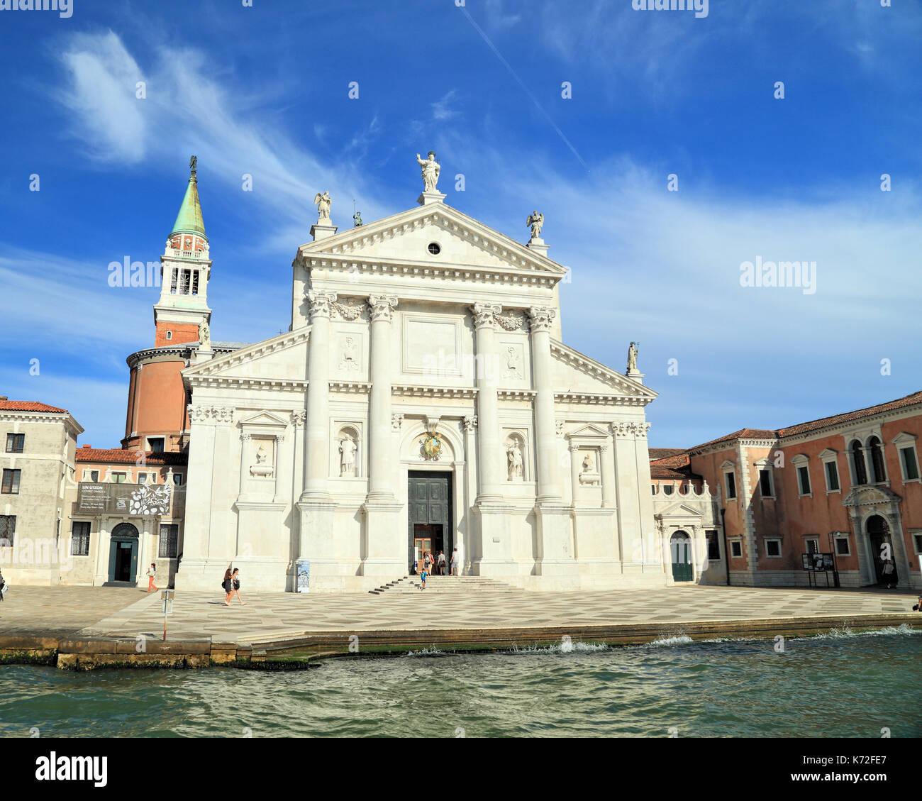 Die Kirche San Giorgio Maggiore Auf Der Insel San Giorgio Venedig