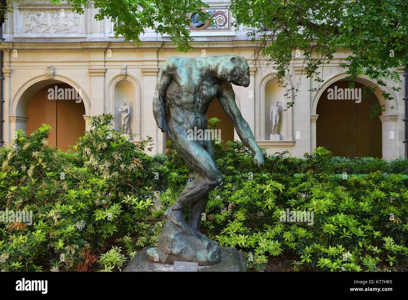Frankreich, Rhone, Lyon, historische Stätte als Weltkulturerbe von der UNESCO, Palais Saint Pierre, Musée des Beaux Stockfoto