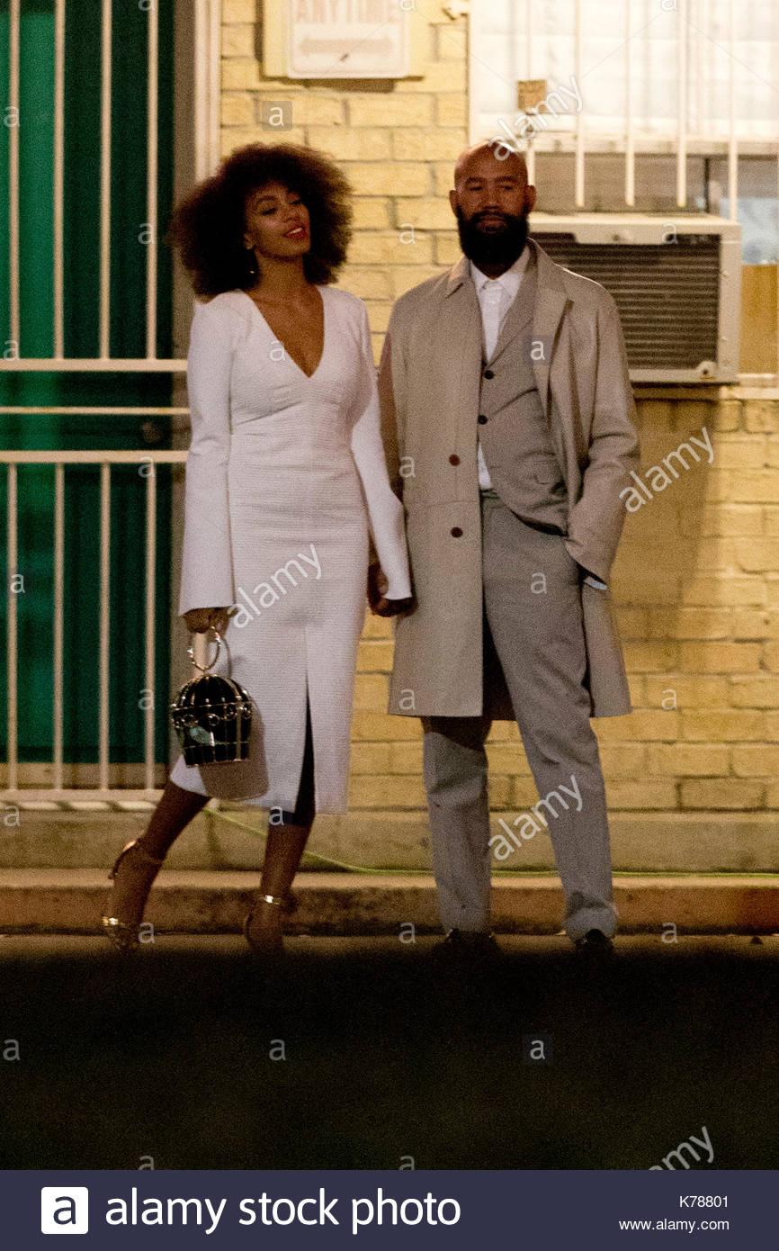 Solange Knowles Und Alan Ferguson Solange Knowles Und Ihr Verlobter