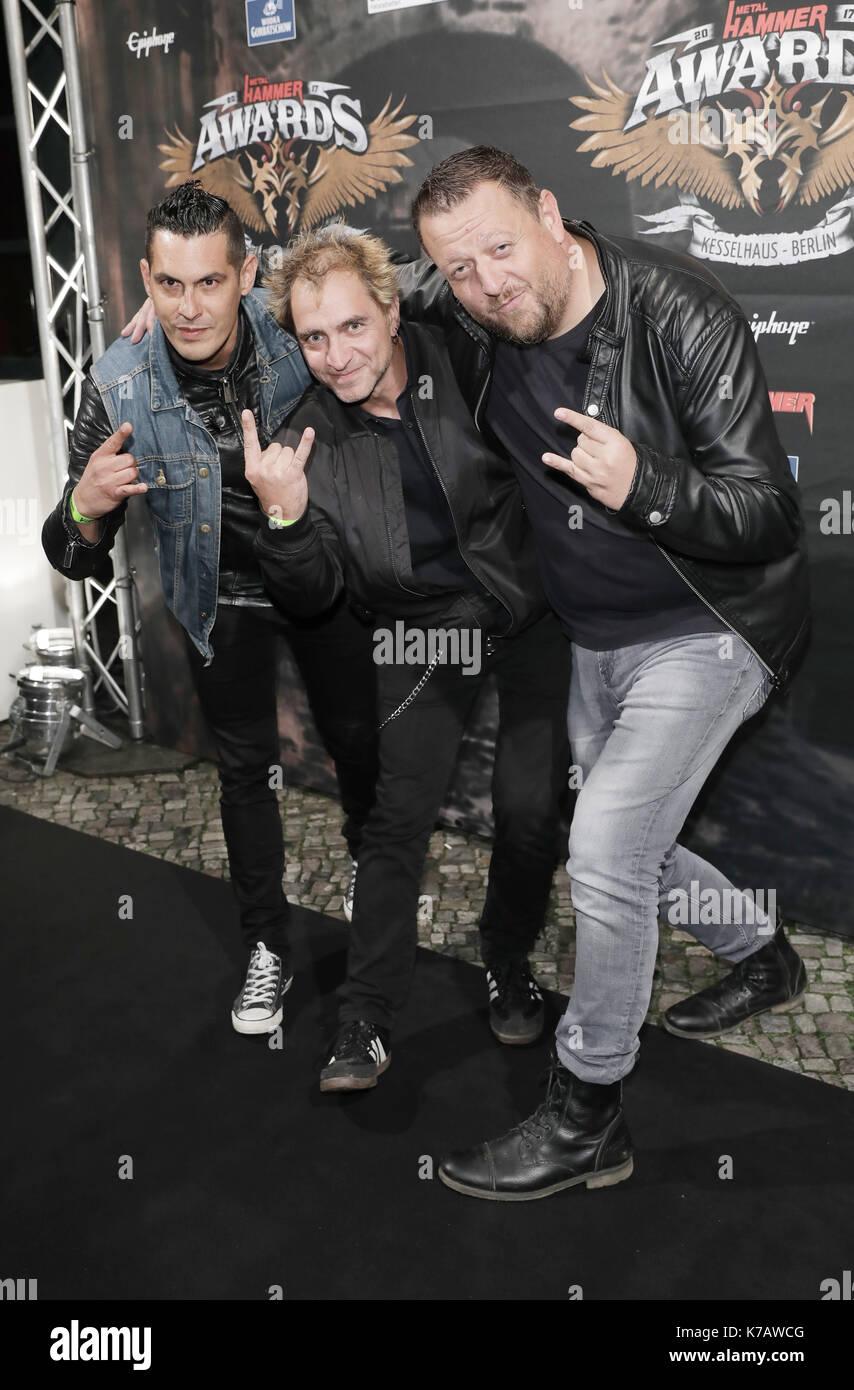 Berlin Deutschland 15 Sep 2017 Die Band Betontod Am Metal Hammer