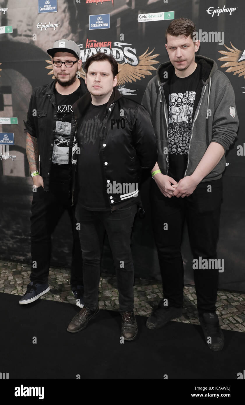 Berlin Deutschland 15 Sep 2017 Die Band Johnny Deathshadow Am