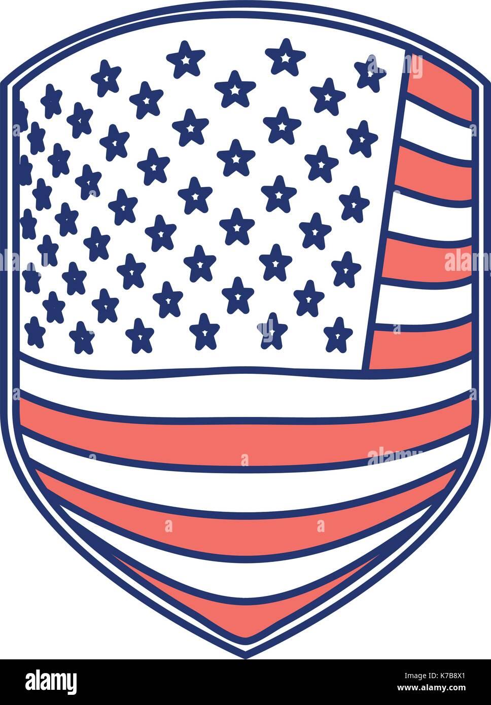 Schön Flagge Der Vereinigten Staaten Färbung Seite Ideen - Entry ...