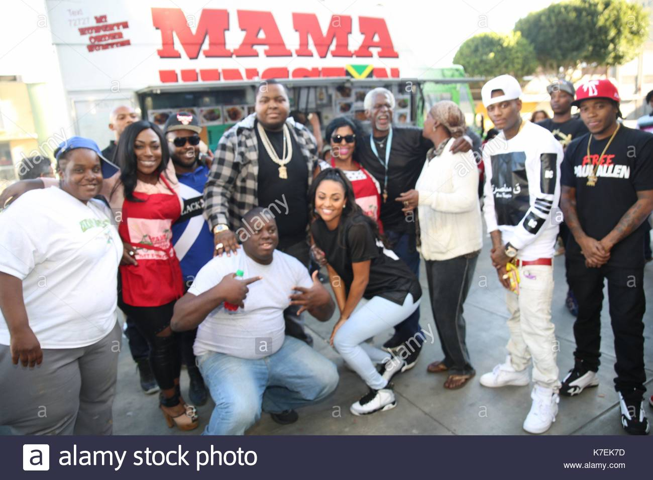 Sean Kingston und Soulja Boy. Sean Kingston holte \'Mama von Kingston ...