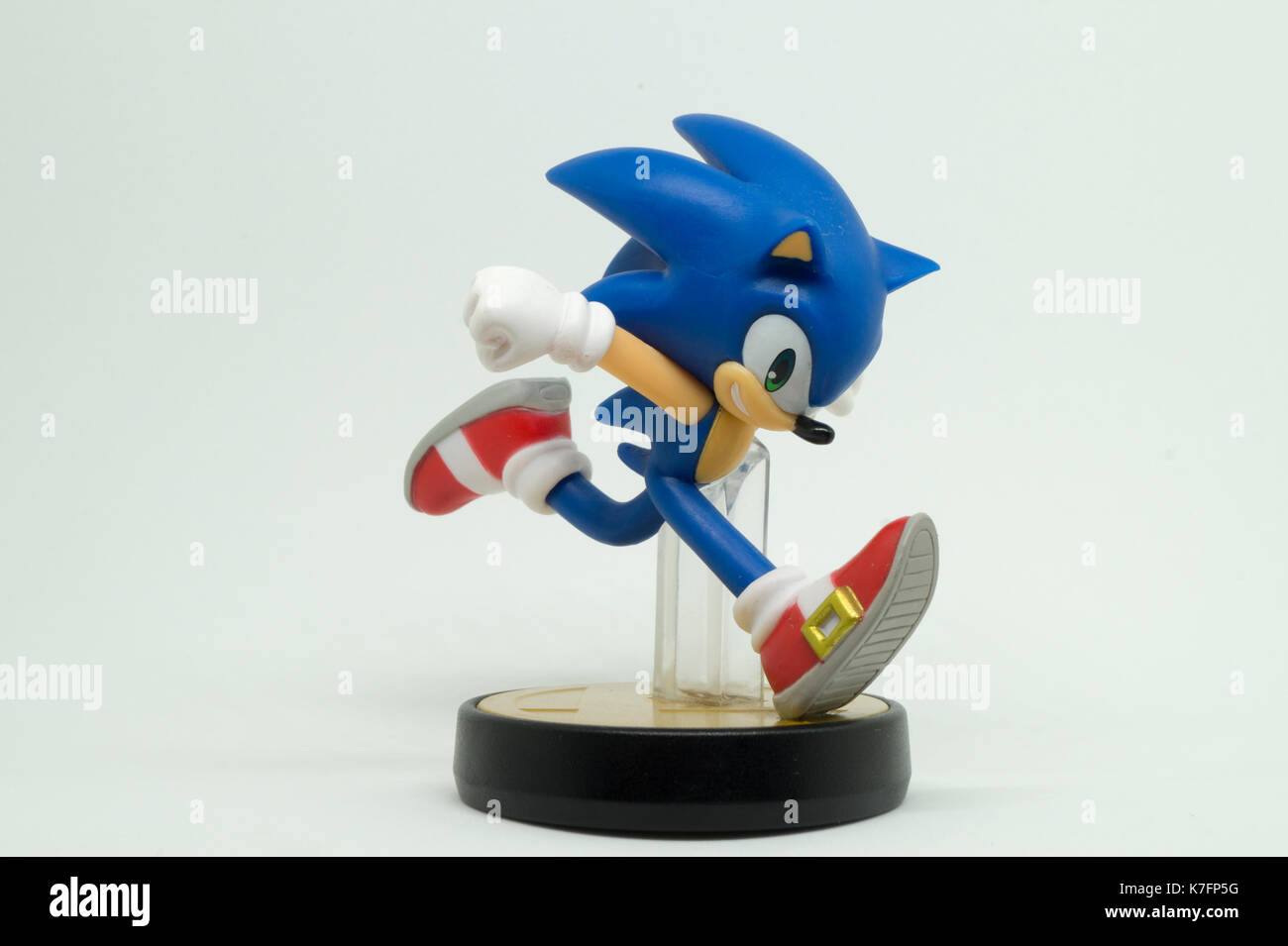 Nintendo Super Smash Bros Amiibo Sammlung Abbildung Sonic Stockfotografie Alamy