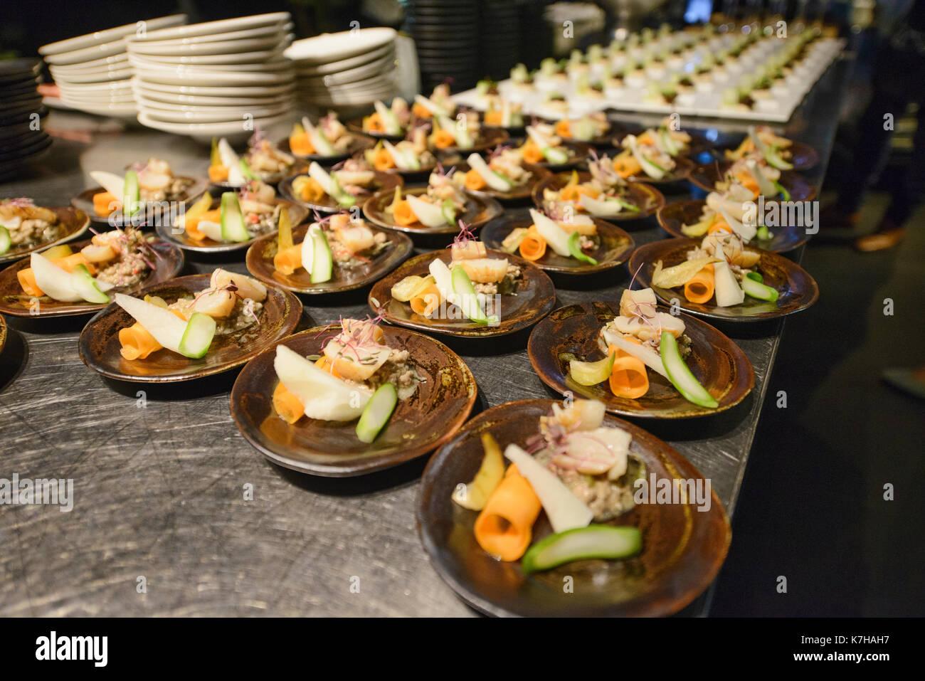 Gourmetküche, Bangkok, Thailand Stockbild
