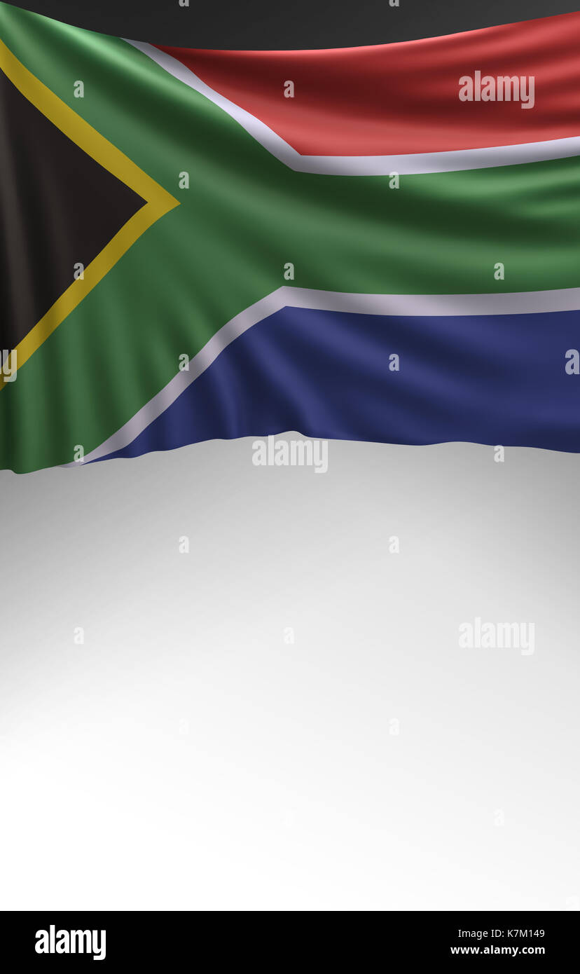3d Rendering South Africa Flag Stockfotos & 3d Rendering South ...