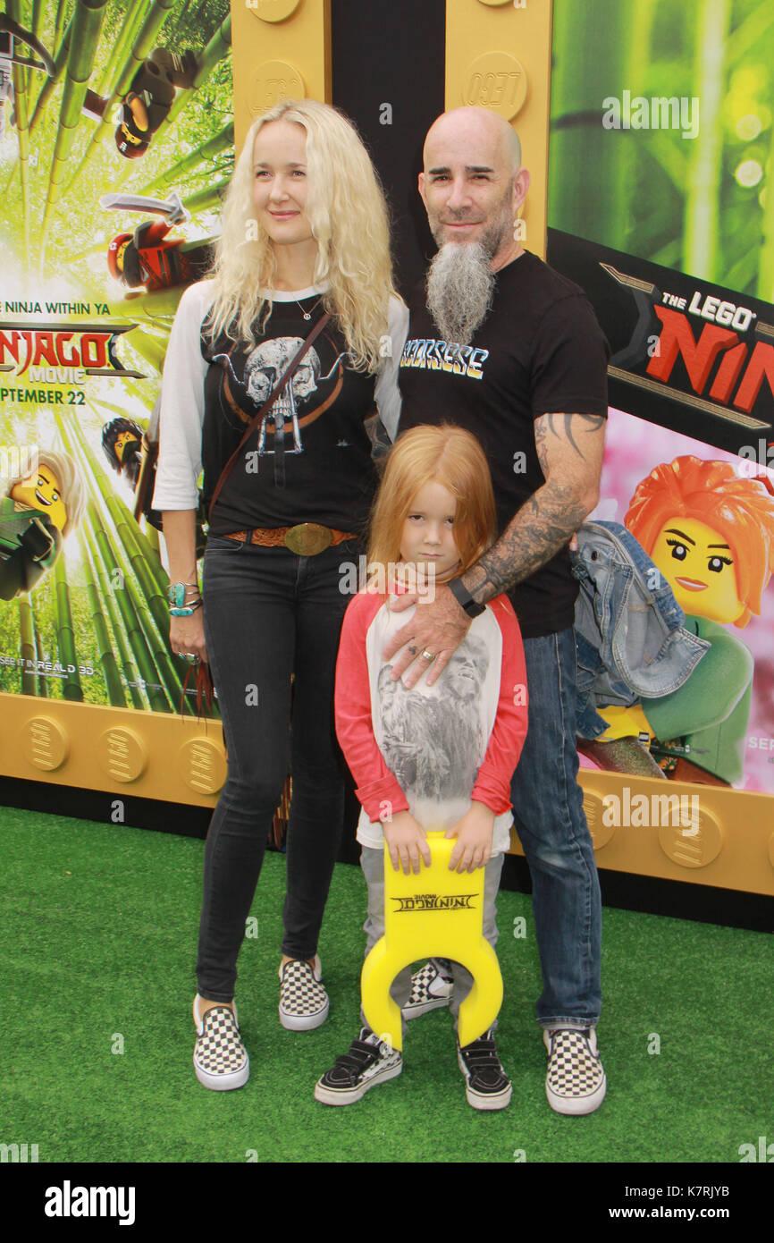 "Scott Ian 04/01/2017 ""Die LEGO Ninjago Film 'Premiere im Regency Dorf Theater in Westwood, ca Foto: Cronos/hollywood Nachrichten Stockbild"