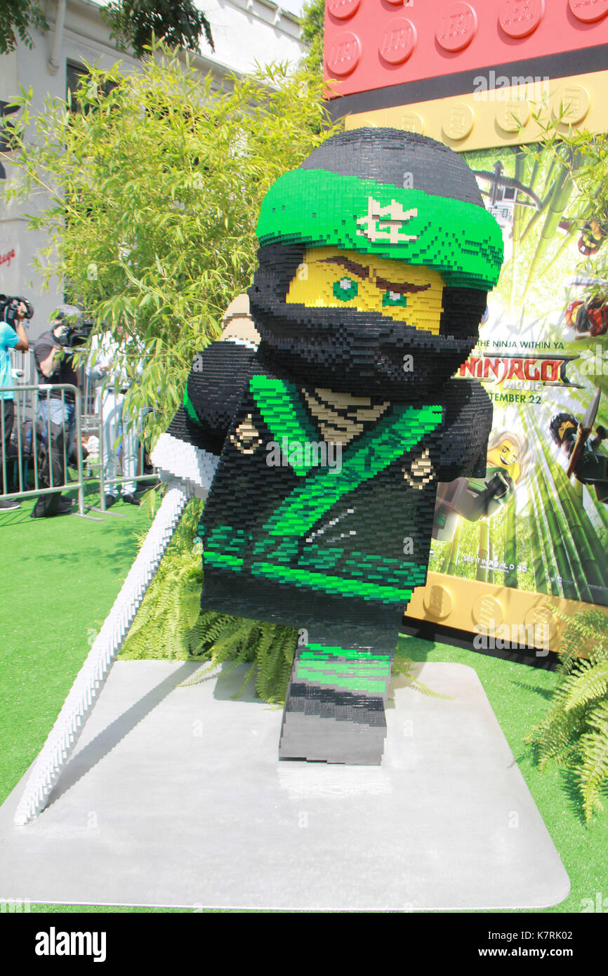 """Atmosphäre 04/01/2017 """"Die LEGO Ninjago Film 'Premiere im Regency Dorf Theater in Westwood, ca Foto: Cronos/hollywood Nachrichten Stockbild"""