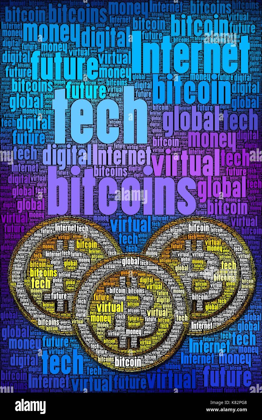 Bitcoin vertikalen Konzept mag Abdeckung ich ausgelegt. Sie können Licht hinzufügen, wenn Seine zu dunkel. Das würde Stockfoto
