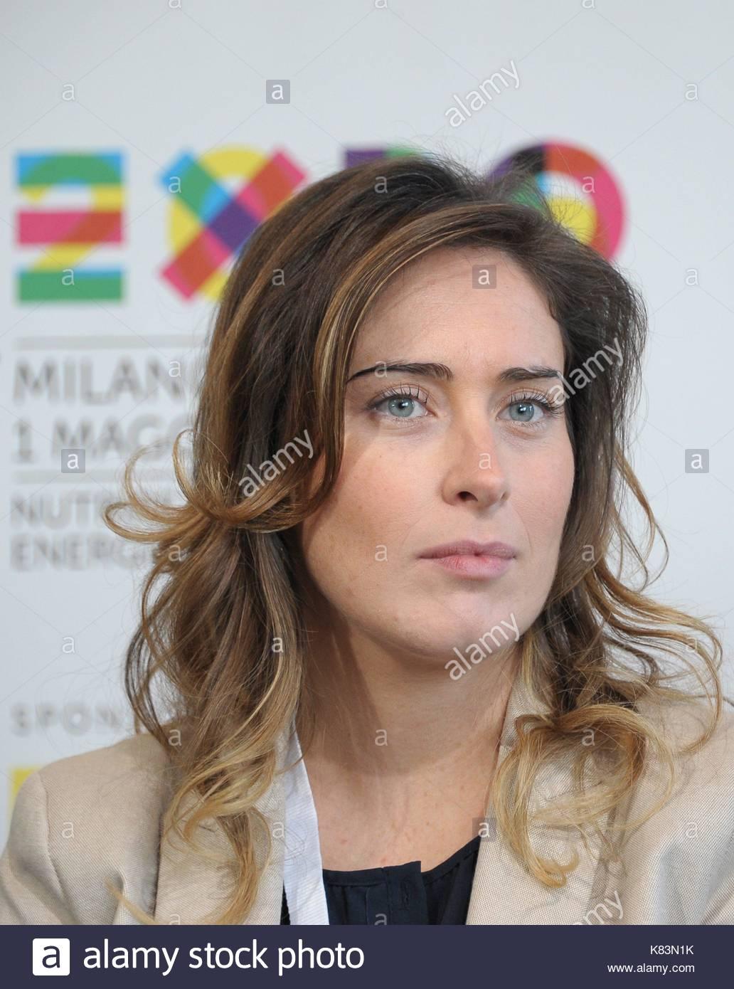 Maria Elena Boschi Ministro Per Le Riforme Costituzionali Milano