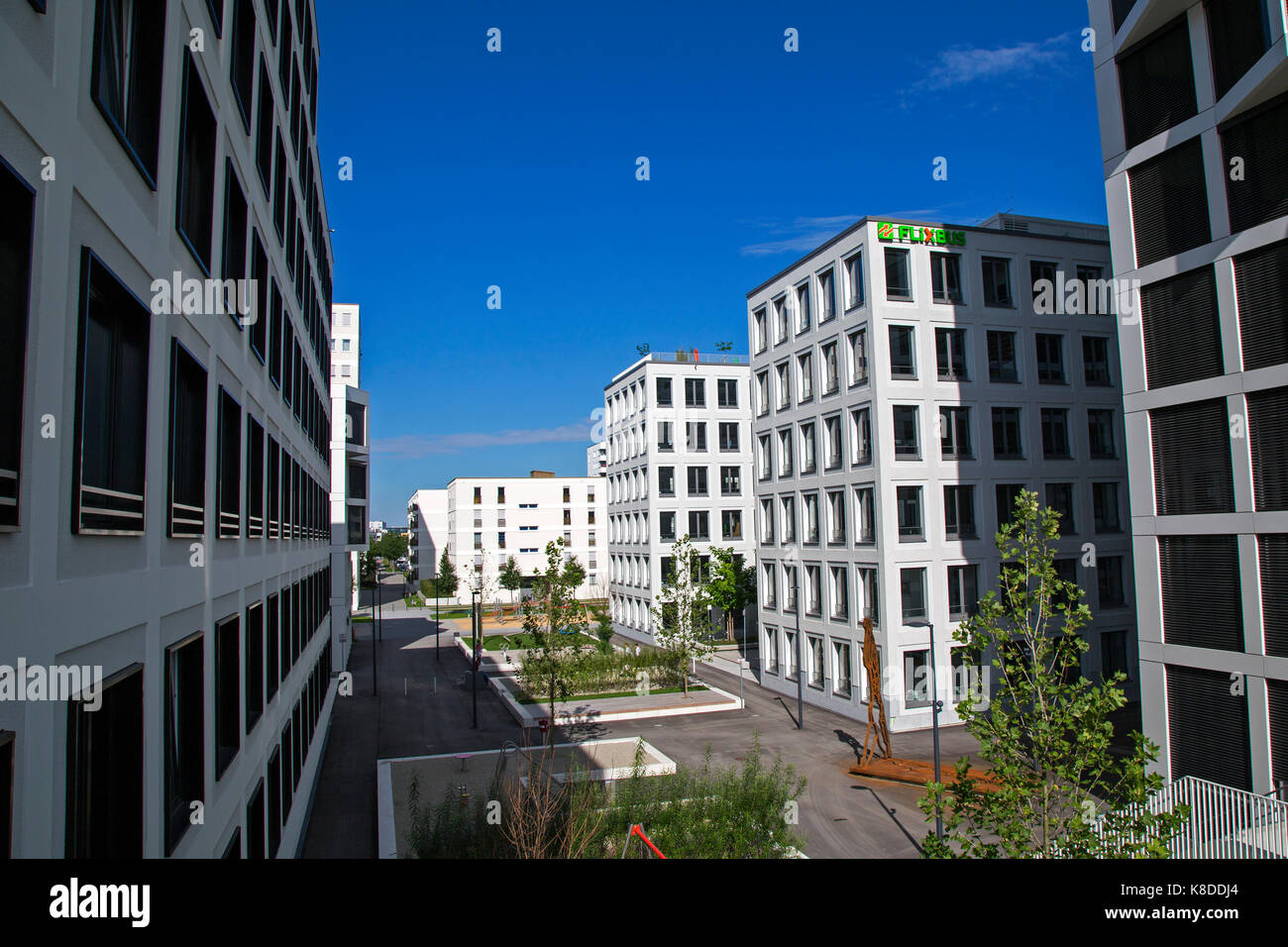 housing development munich stockfotos housing development munich bilder alamy. Black Bedroom Furniture Sets. Home Design Ideas