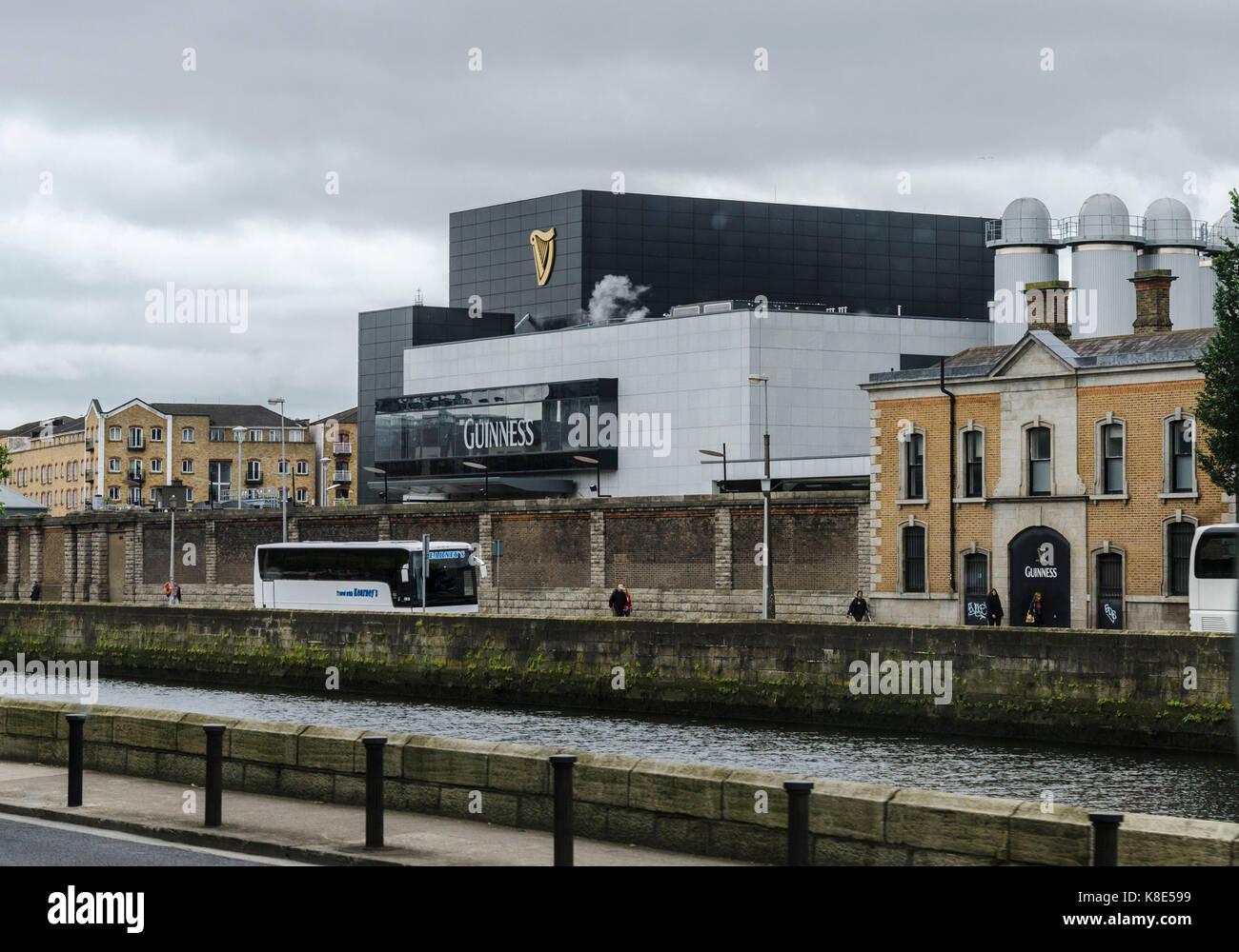 Irland, Dublin, Brauerei komplexe Guiness, Irland, Brauereikomplex Guiness Stockbild