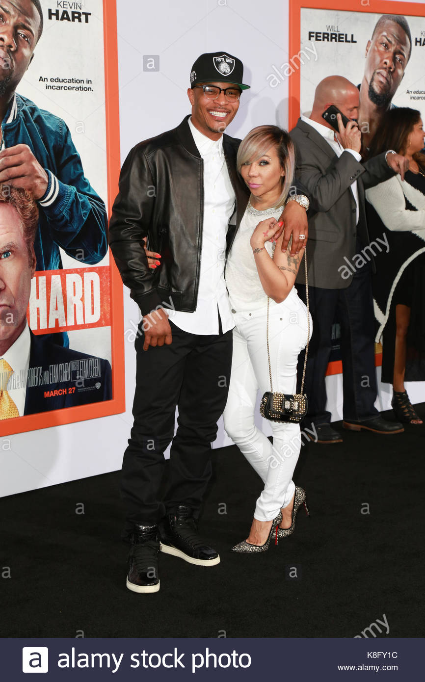 Tameka Tiny Cottle Harris Tip Ti Cottlearrivals Bei Der Premiere Von Warner Bros Pictures Harten An Tcl Chinese Theater Imax In