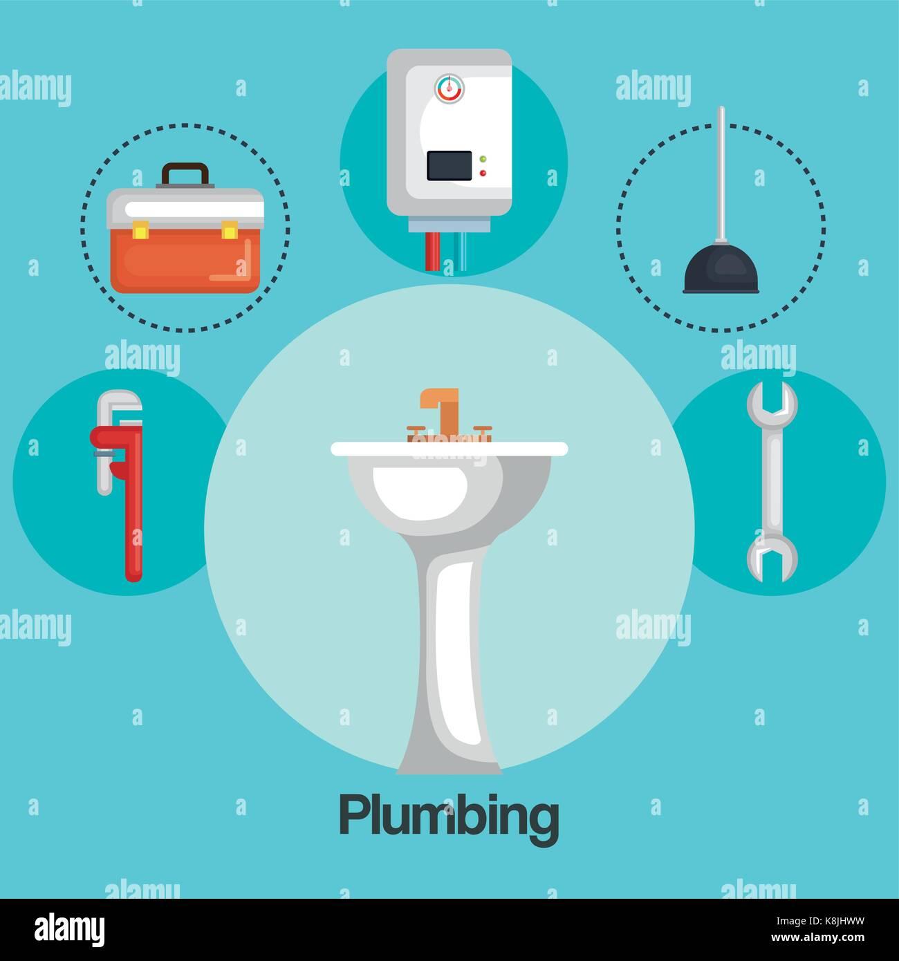 Plumbing Water Heater Stockfotos & Plumbing Water Heater Bilder ...