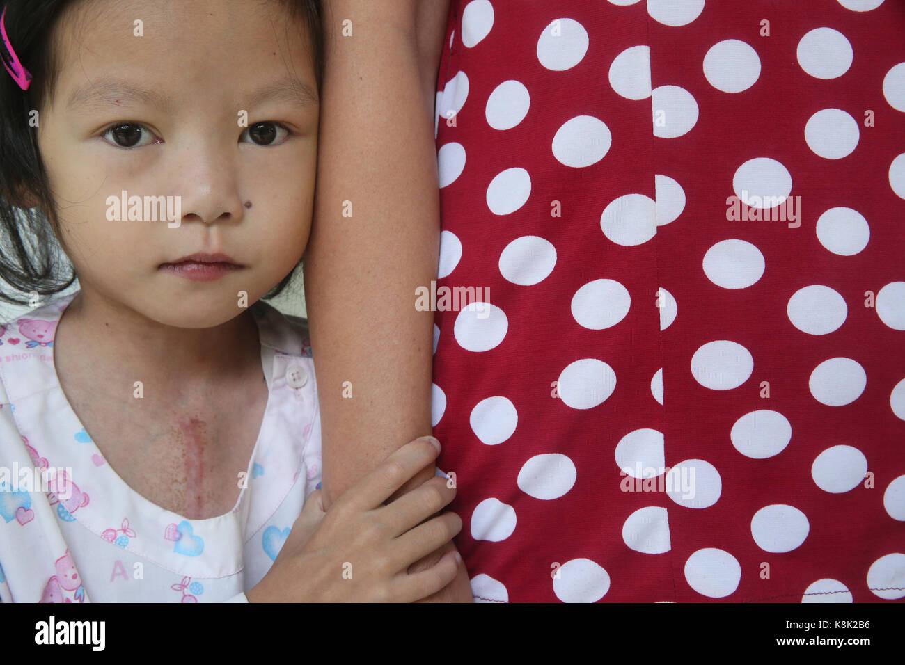 Das Herz Institut bieten qualitativ hochwertige Versorgung von Patienten mit Herzerkrankungen, die vietnamesischen. Stockbild