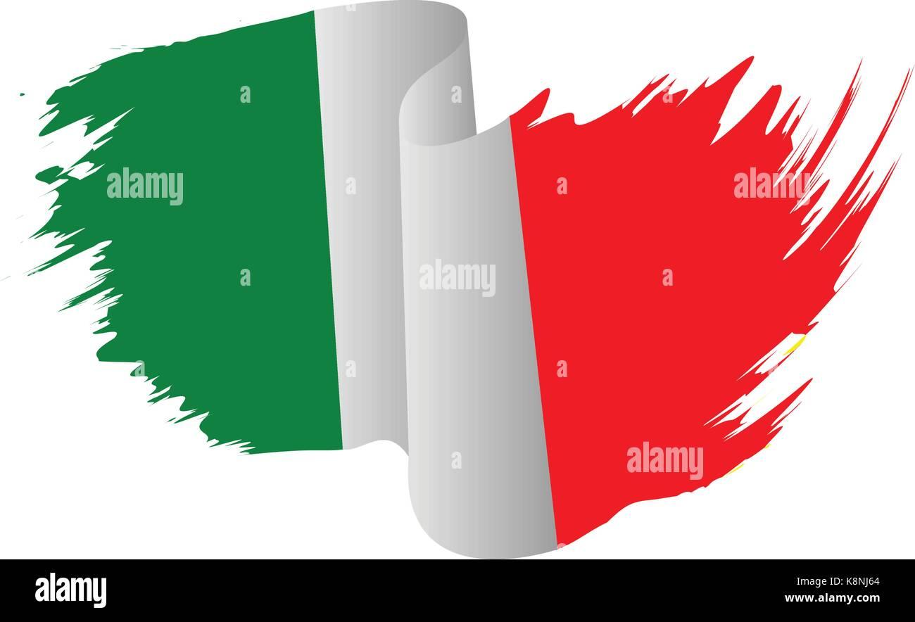 italien flagge vektor symbol icon design italienische