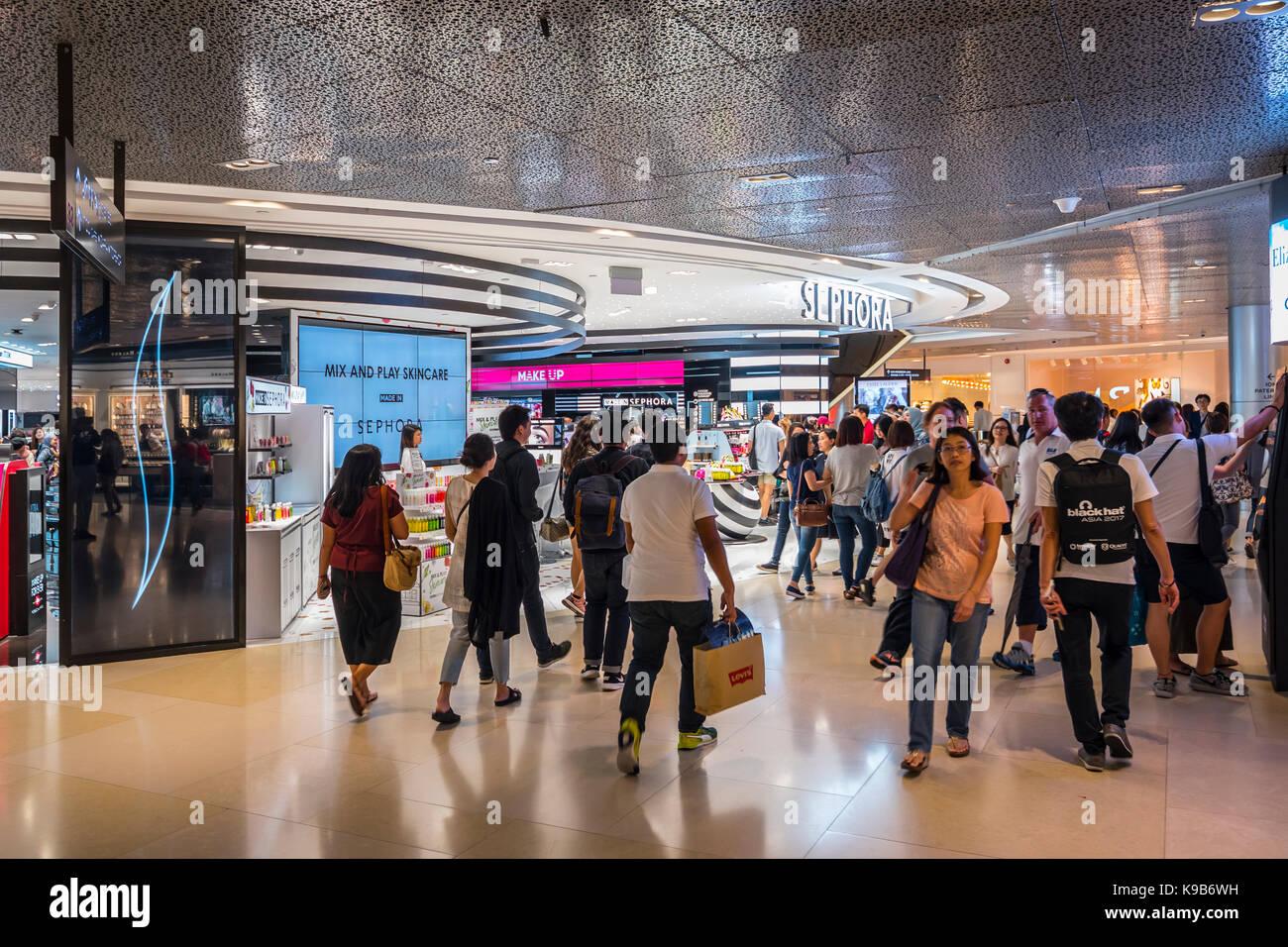 Sephora Kosmetik Shop, ion Shopping Mall, Singapur Stockbild
