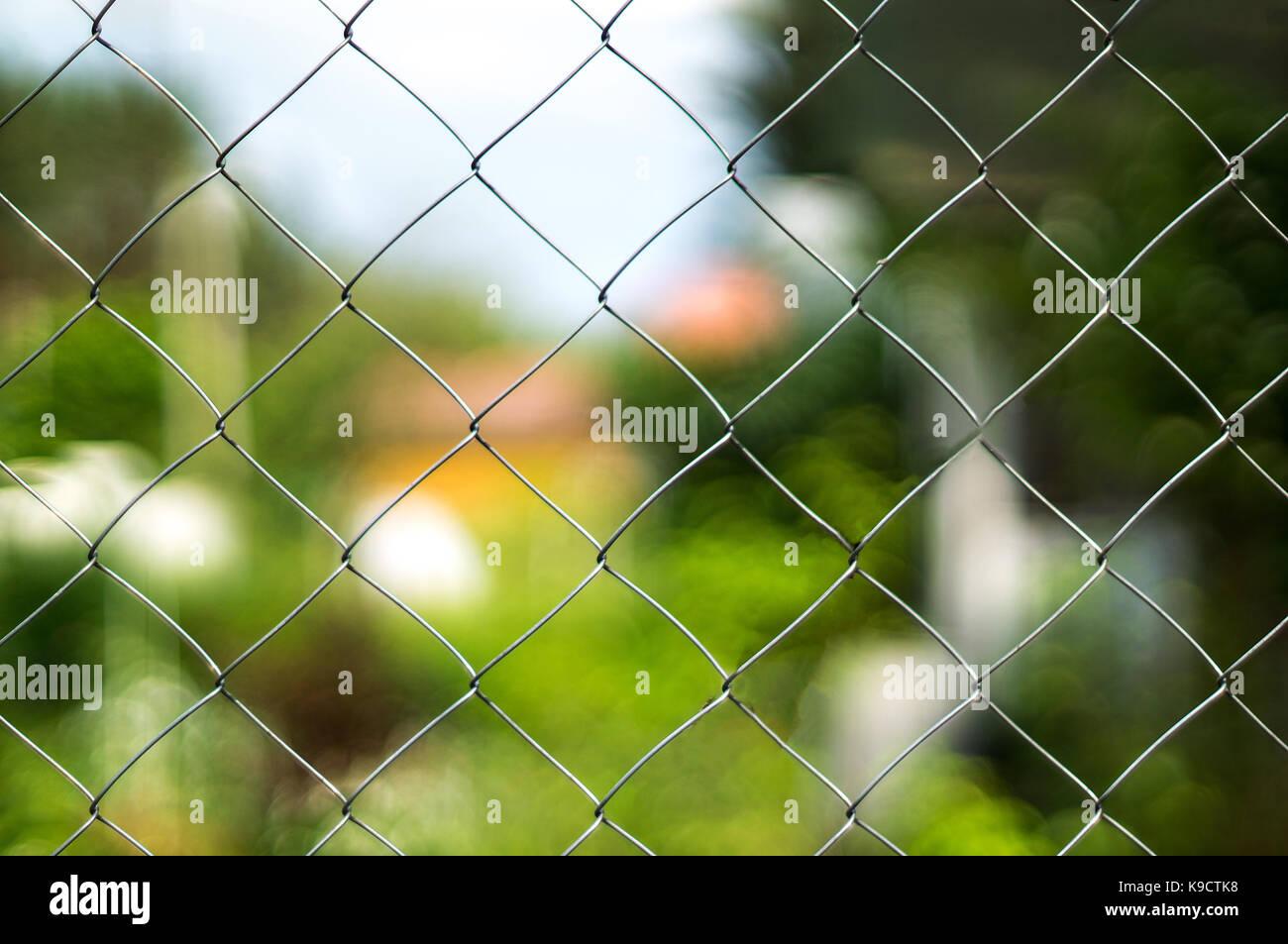 Erfreut Vinyl überzogener Maschendrahtzaun Fotos - Schaltplan Serie ...