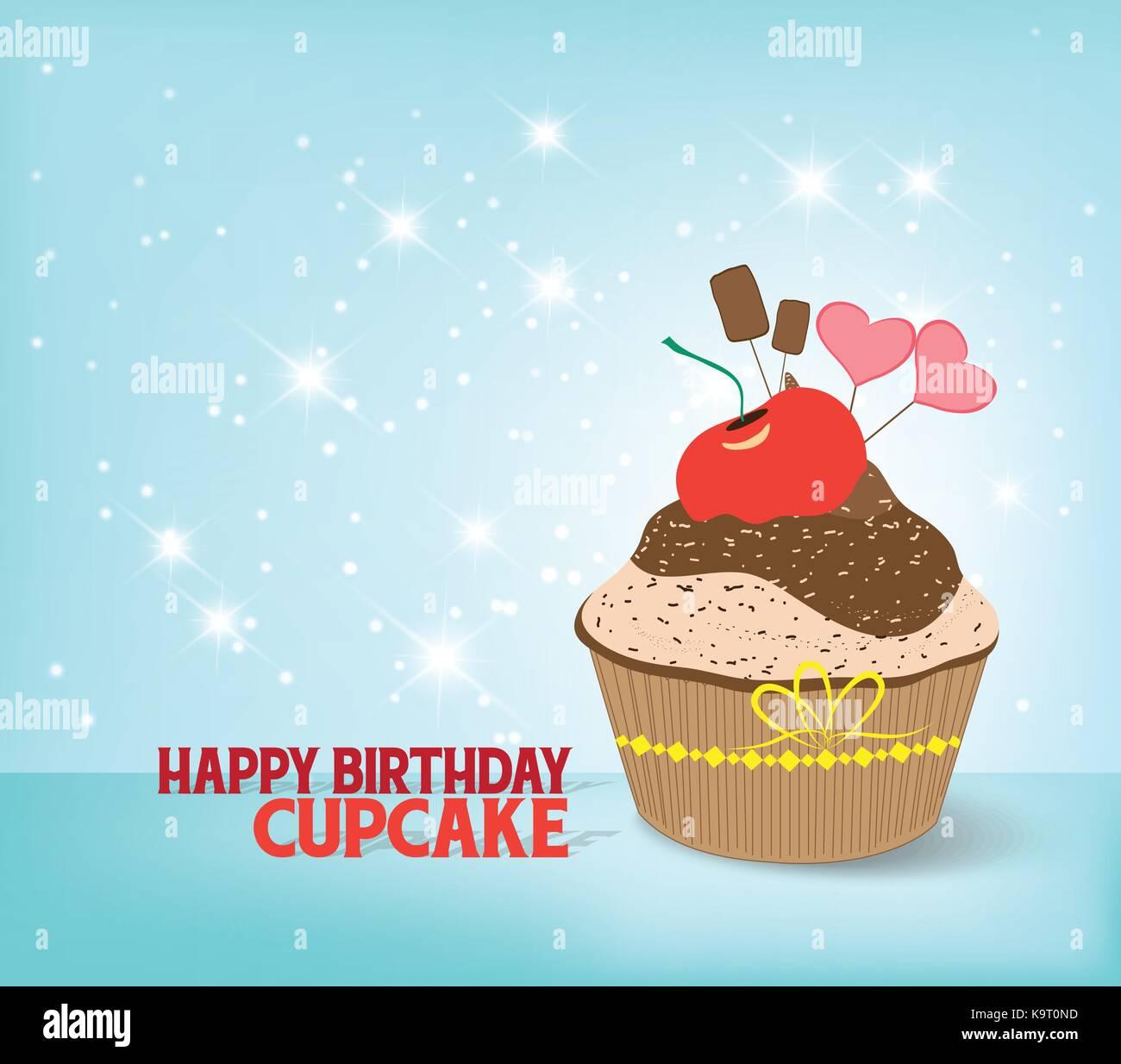 Groß Geburtstag Cupcake Färbung Seite Zeitgenössisch - Druckbare ...