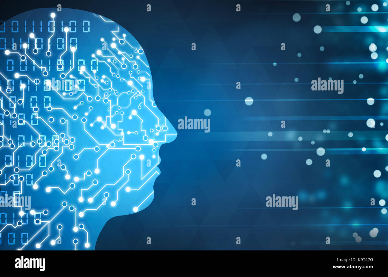 künstliche Intelligenz Stockfoto