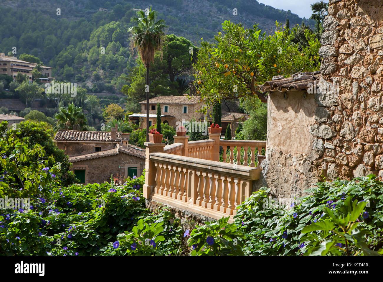 Dorf Deia auf Mallorca, Spanien Stockbild